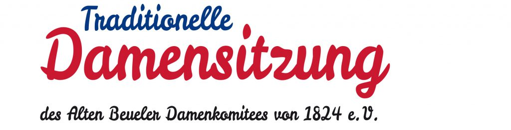 Traditionelle Damensitzung