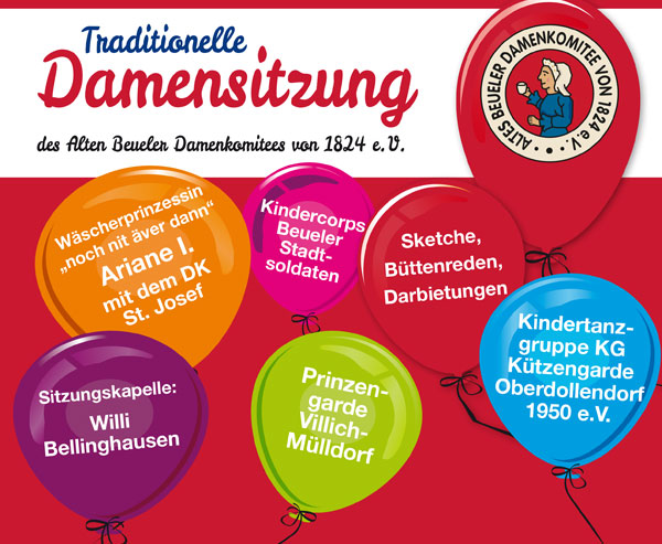 Damensitzung ABDK 2019